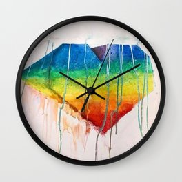 Dripping Love Wall Clock