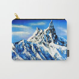 Panoramic View Of Everest Mountain Peak Carry-All Pouch