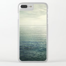 Calm at the sea. Summer dreams Clear iPhone Case