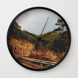 A Thousand Miles Wall Clock