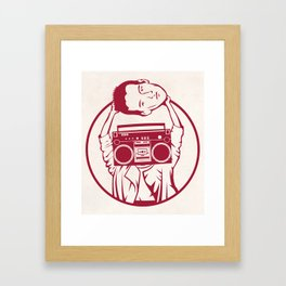 Don't Say Anything Framed Art Print