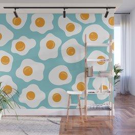 Fried Eggs Wall Mural