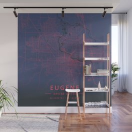 Eugene, United States - Neon Wall Mural