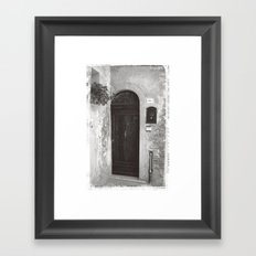 Rome Door 2 Framed Art Print