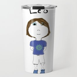 Personalized Art - Leo Travel Mug