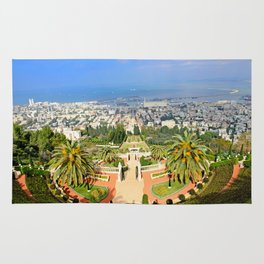 Bahai Gardens Rug