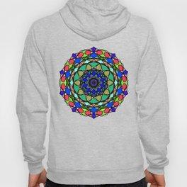 Colourful Hand Drawn Mandala Hoody