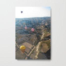 Balloons over Cappadocia Metal Print