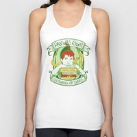 peter pan Tank Tops featuring Pan by Charleighkat