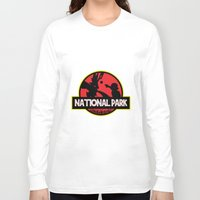the national Long Sleeve T-shirts featuring National Park by EnoLa