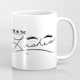Look Me in the Lashes Coffee Mug