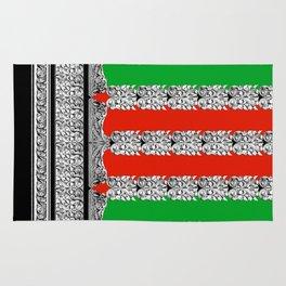 Holiday Stripe Frett Rug