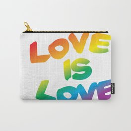 Basic Love is Love Carry-All Pouch