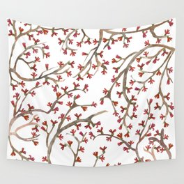 Shrub Wall Tapestry