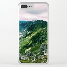 Tatra Mountains Clear iPhone Case