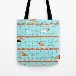 Swimming pool Tote Bag