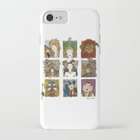 labyrinth iPhone & iPod Cases featuring Labyrinth by Steven Learmonth
