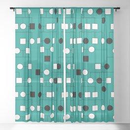 Pedigree Analysis - Autosomal Recessive Sheer Curtain