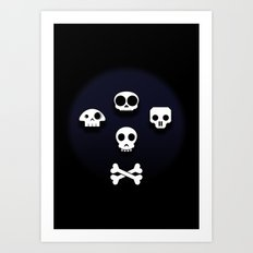 Easy come, easy go. Little high, little low. Art Print