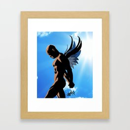 Winged Creature One Framed Art Print