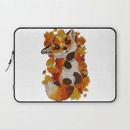 Cute Fox automn Laptop Sleeve