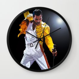 Rock Music Fan Art Wall Clock