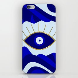 Lava All Seeing Evil Eye iPhone Skin