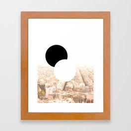 my Athens Framed Art Print