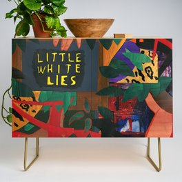 Little White Lies Credenza