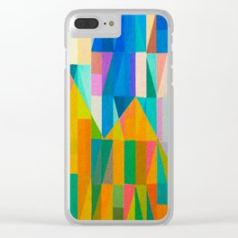 By Climbing Colors Clear iPhone Case