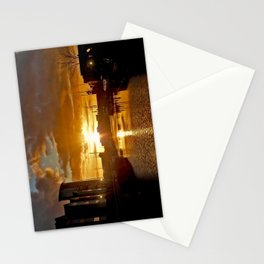 Sunset in Swansea Stationery Cards