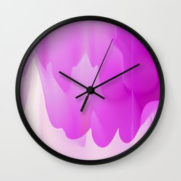 Paint Dripping 2 Wall Clock