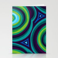 malachite Stationery Cards featuring Malachite by Alex Morgan