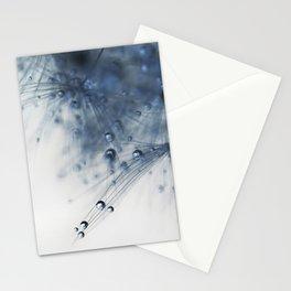 dandelion blue drop Stationery Cards