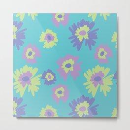 flower pattern/ print Metal Print