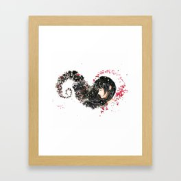 Mia Corvere Fan Art Framed Art Print