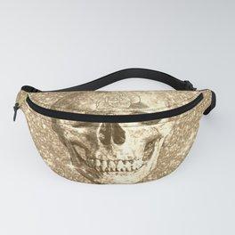 Modern sparkling Skull C Fanny Pack