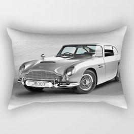 1963 Aston Martin DB5 Rectangular Pillow