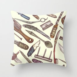 Shanks & Shivs Throw Pillow