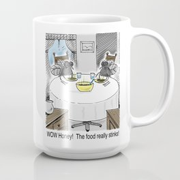 The Food Really Stinks! Coffee Mug