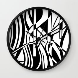 smoothed confusion Wall Clock