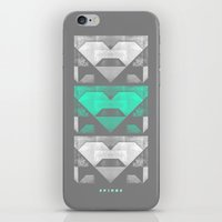 spires iPhone & iPod Skins featuring spires dymynd by Spires