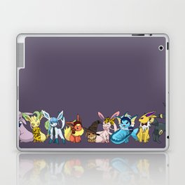 Eeveelutions Go To Hogwarts Laptop & iPad Skin