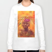 spice Long Sleeve T-shirts featuring Spice Kid by The Art of Vancuf