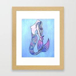 Acceptable Mermaid Framed Art Print