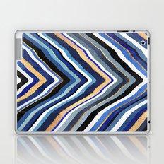 Blue Slice Laptop & iPad Skin