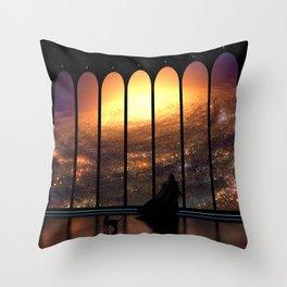 The Overseer Throw Pillow