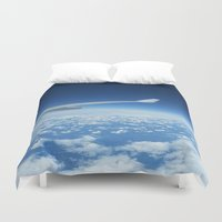 flight Duvet Covers featuring Flight by GF Fine Art Photography