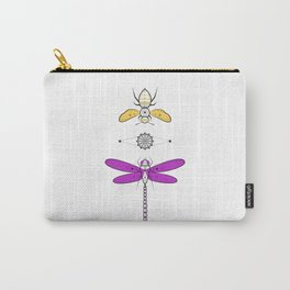 Two Insects Carry-All Pouch