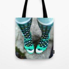 Let's Polka (Dot) Tote Bag